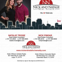 Two-side business card for N&N Realty