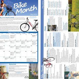 Bike Month brocure