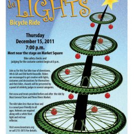 Tour de Lights poster 2011