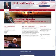 Elect Paul Douglas website