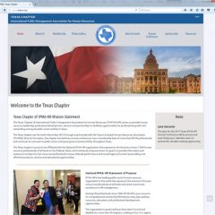 "<a href=""https://www.txipma.org"" target=""blank"">Texas Chapter of IPMA-HR</a>"