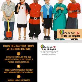 Halloween Safety Tip mailer