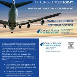 Lung Cancer Awareness Month mailer