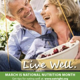 National Nutrition Month table ten