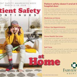 Patient Safety Week flyer